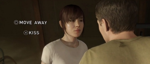 Still from Beyond Two Souls with Ellen Page